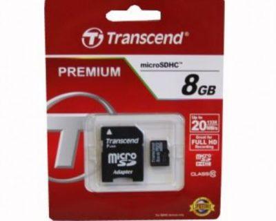 transcend microsdhc 8gb 10class box 500x500