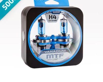Галогеновые лампы MTF Vanadium 5000k